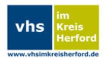 Die Lernplattform der VHS im Kreis Herford